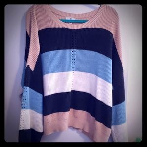 Striped BP sweater